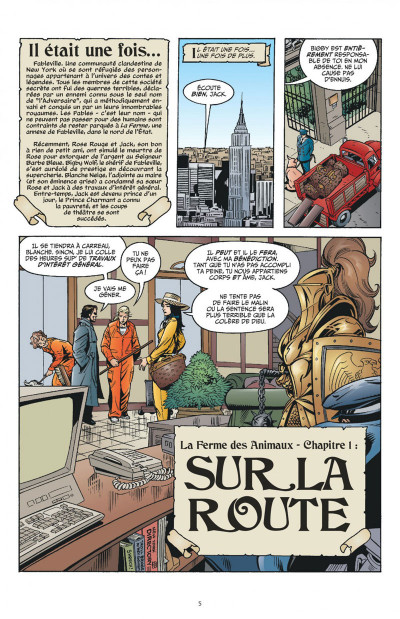 Page 5 Fables tome 2 - la ferme des animaux (cartonné)