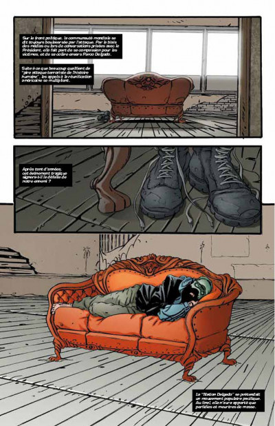 Page 2 DMZ tome 10 - porté disparu (souple)