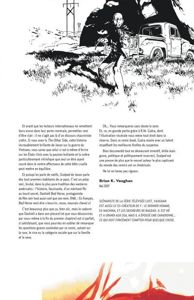 Page 5 Scalped tome 1 - cartonné