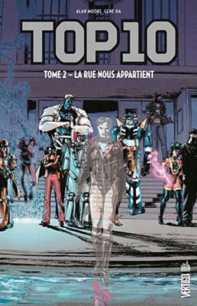 Couverture top 10 tome 2 : la rue nous appartient
