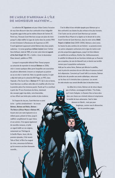 Page 4 Grant Morrison présente Batman tome 1