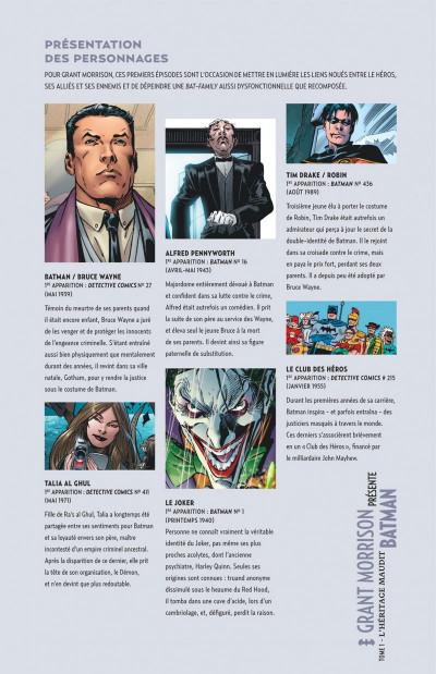 Page 5 Grant Morrison présente Batman tome 1