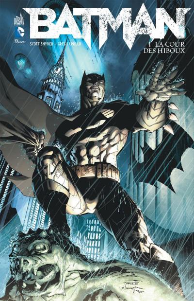 Couverture Batman tome 1 - la cour des hiboux