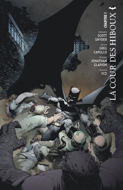 Page 4 Batman tome 1 - la cour des hiboux