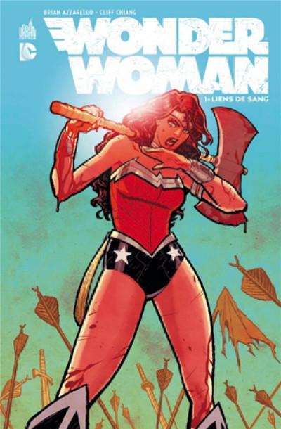 Couverture Wonder Woman tome 1 - liens de sang