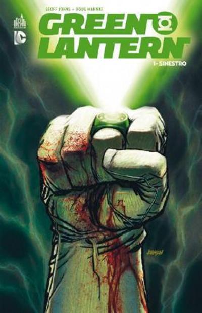 Couverture Green Lantern tome 1 - Sinestro