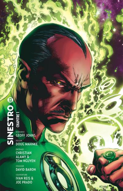Page 4 Green Lantern tome 1 - Sinestro