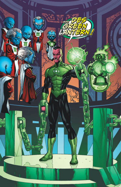 Page 6 Green Lantern tome 1 - Sinestro