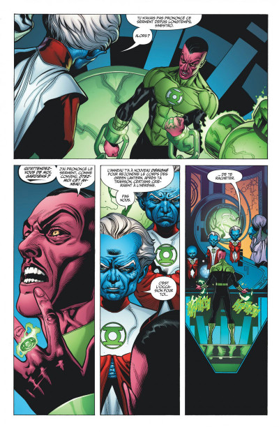 Page 7 Green Lantern tome 1 - Sinestro