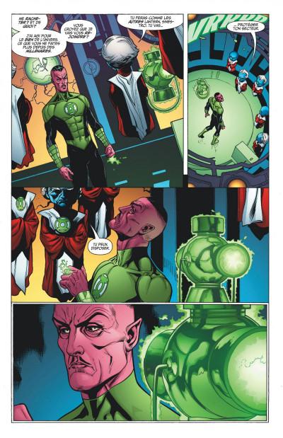 Page 8 Green Lantern tome 1 - Sinestro