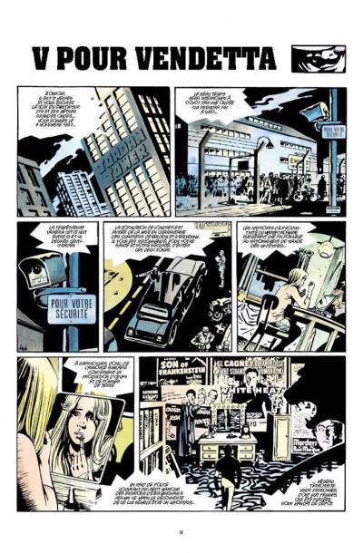 Page 1 V pour Vendetta