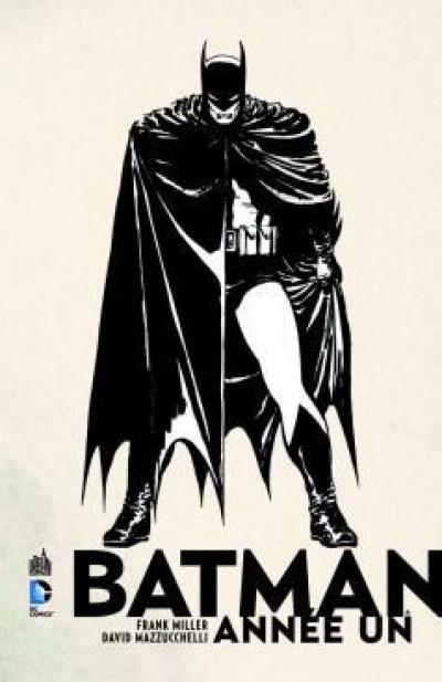 Couverture batman  ; année 1 ; pack promo DVD + BluRay ; tirage limité