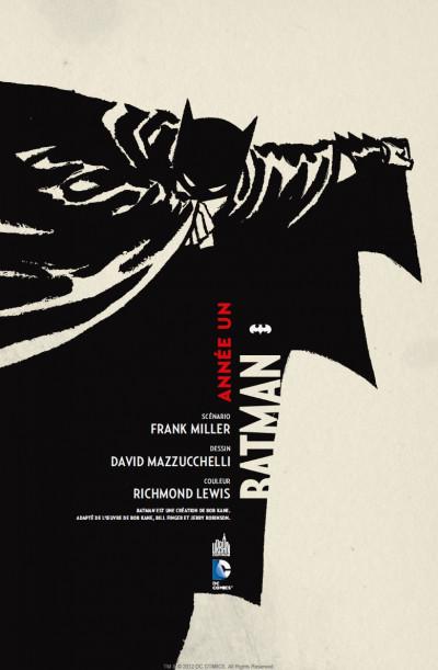 Page 1 batman  ; année 1 ; pack promo DVD + BluRay ; tirage limité