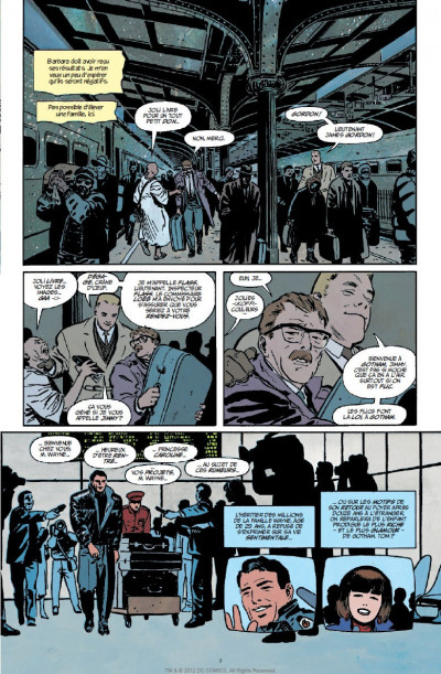 Page 4 batman  ; année 1 ; pack promo DVD + BluRay ; tirage limité