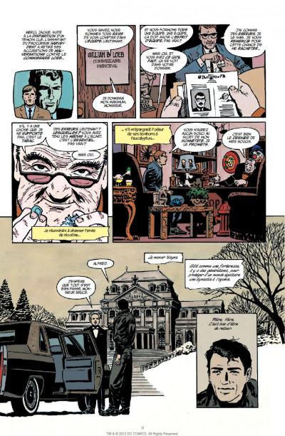 Page 5 batman  ; année 1 ; pack promo DVD + BluRay ; tirage limité