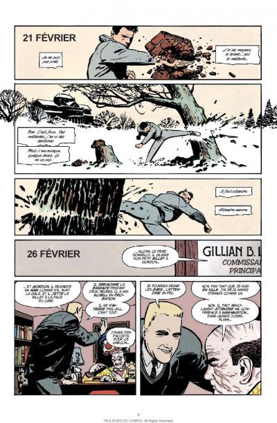 Page 8 batman  ; année 1 ; pack promo DVD + BluRay ; tirage limité