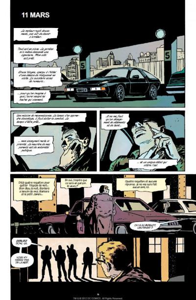 Page 9 batman  ; année 1 ; pack promo DVD + BluRay ; tirage limité