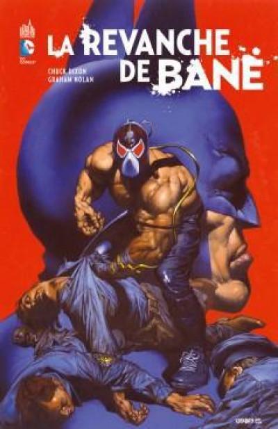 Couverture batman contre bane ; la revanche de Bane