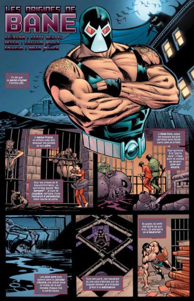 Page 1 batman contre bane ; la revanche de Bane