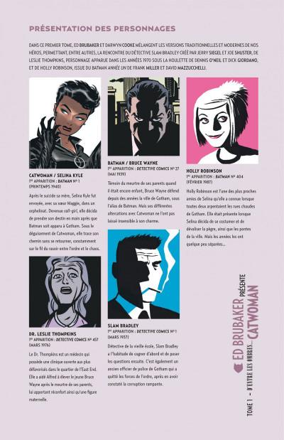 Page 5 Ed Brubaker présente catwoman tome 1