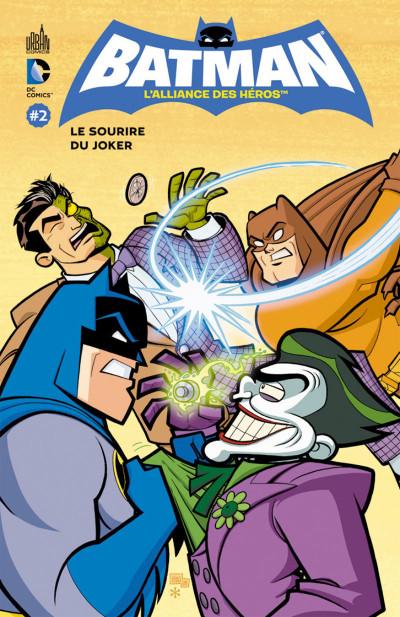 Couverture Batman - l'alliance des héros tome 2 - le sourire du Joker