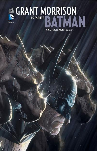 Couverture grant morrison présente batman tome 2 - Batman RIP