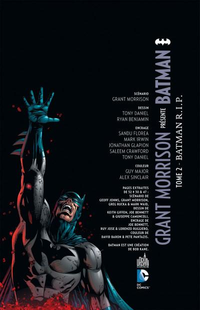 Page 3 grant morrison présente batman tome 2 - Batman RIP