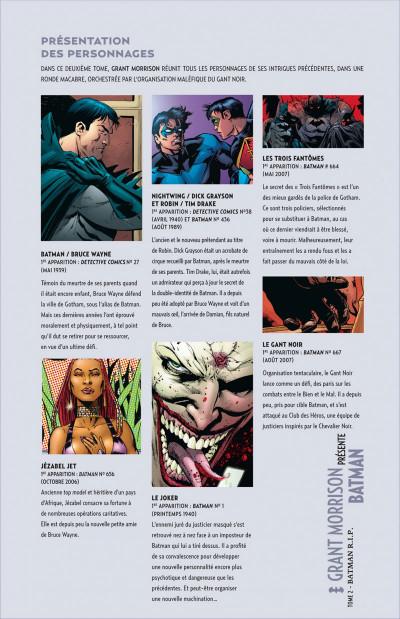Page 5 grant morrison présente batman tome 2 - Batman RIP