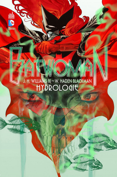 Couverture batwoman tome 1 - hydrologie