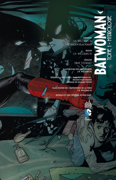 Page 3 batwoman tome 1 - hydrologie