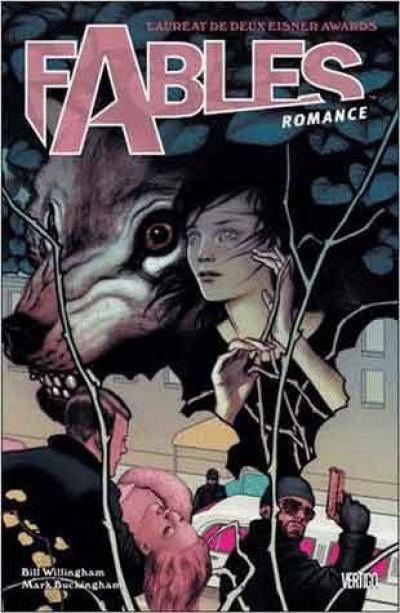 Couverture Fables tome 3 - romance (cartonné)