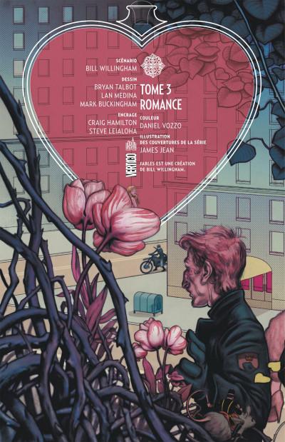 Page 2 Fables tome 3 - romance (cartonné)