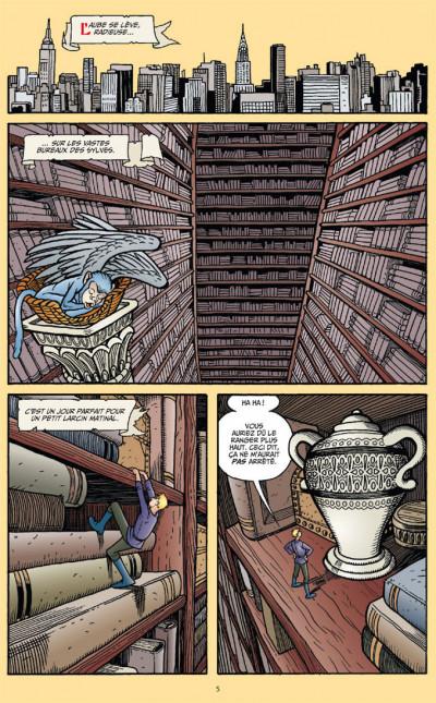 Page 1 Fables tome 4 (cartonné)