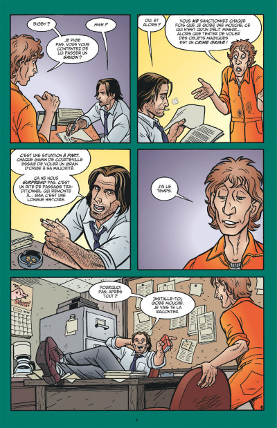 Page 8 Fables tome 4 (cartonné)