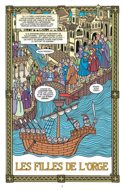 Page 9 Fables tome 4 (cartonné)