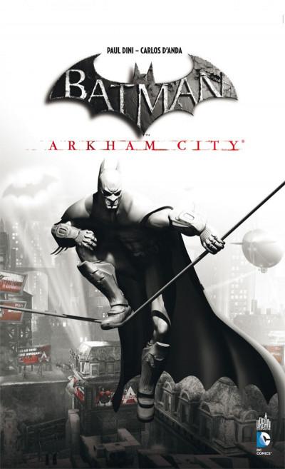Couverture batman ; arkham city + jeu vidéo PC