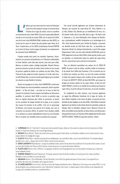 Page 3 JLA ; la tour de babel +DVD et bluray