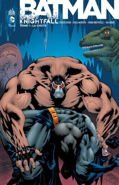 Couverture Batman knightfall tome 1