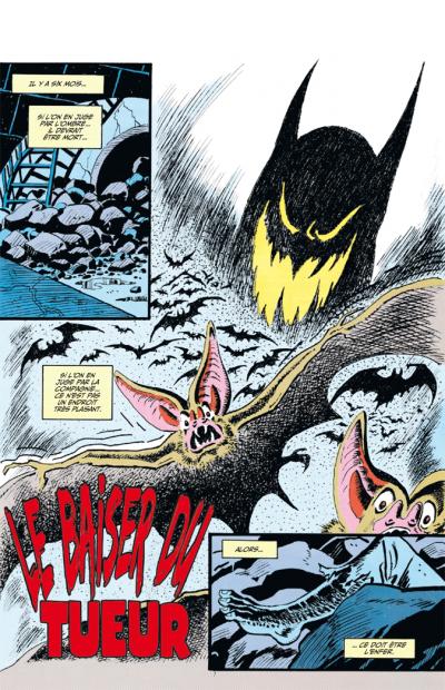 Page 1 Batman knightfall tome 1