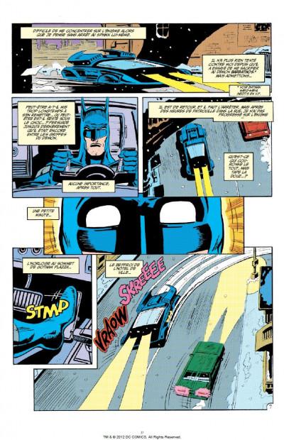 Page 0 Batman knightfall tome 1