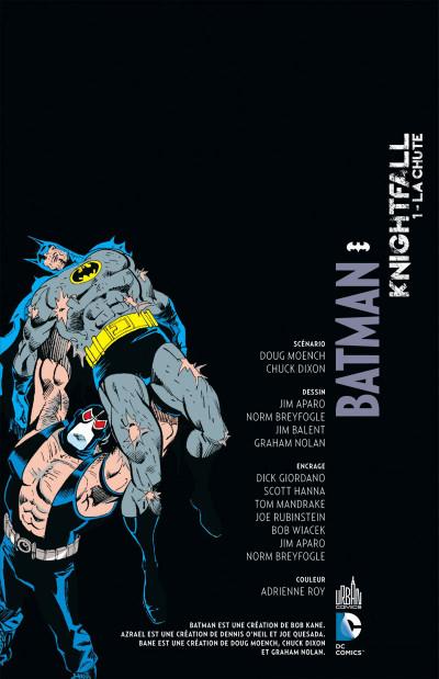 Page 3 Batman knightfall tome 1