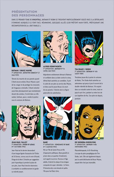 Page 5 Batman knightfall tome 1