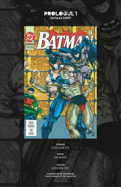 Page 6 Batman knightfall tome 1