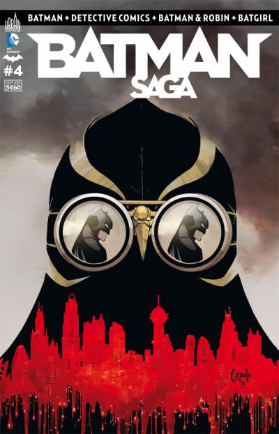 Couverture batman saga tome 4