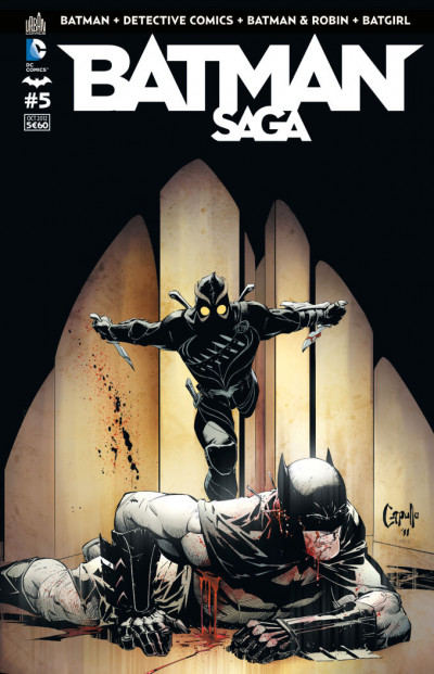 Couverture batman saga tome 5