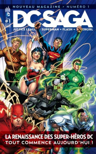 Couverture DC saga tome 1