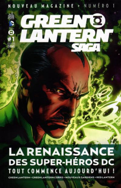 Page 3 Green Lantern saga N.1