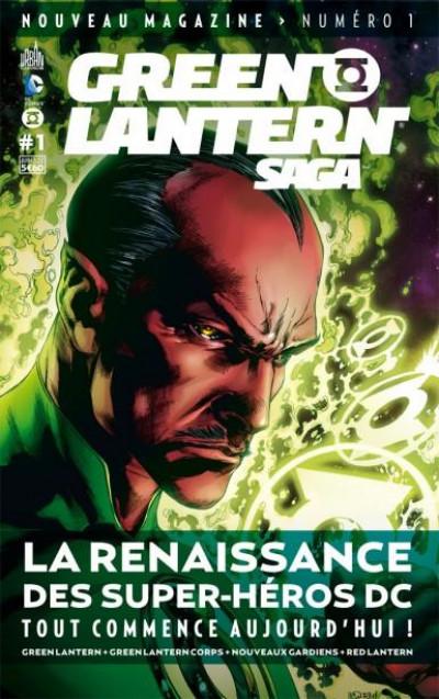 Couverture Green Lantern saga N.1