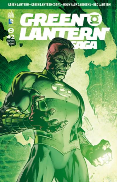 Couverture Green Lantern saga N.2