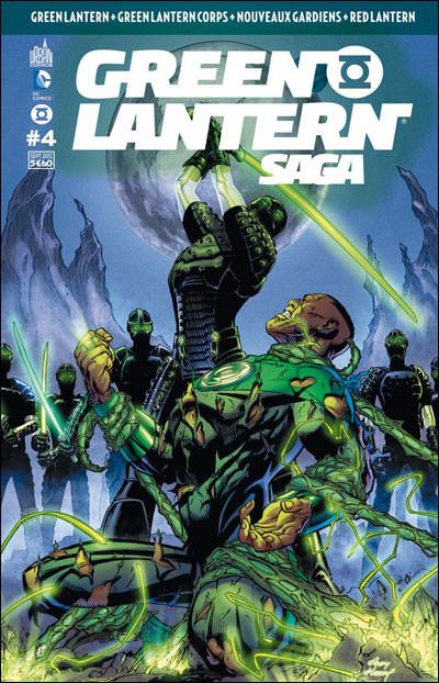 Couverture Green Lantern saga N.4